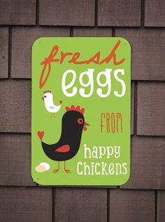 Fresh Eggs from Happy Chickens by BainbridgeFarmGoods on Etsy, $34.00