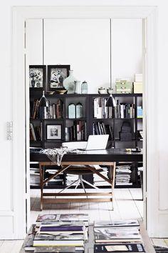Danish designer's home. #home #decor