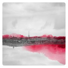 Paris en Rose (Landscape Photography - Fine Art Print - Paris - Eiffel Tower - Montmartre - Watercolor paints - Black and white - Pink)  https://www.etsy.com/listing/151800822/paris-en-rose-landscape-photography-fine?ref=sr_gallery_13&ga_search_query=eiffel+tower&ga_order=most_relevant&ga_ship_to=ZZ&ga_ref=auto1&ga_page=4&ga_search_type=all&ga_view_type=gallery