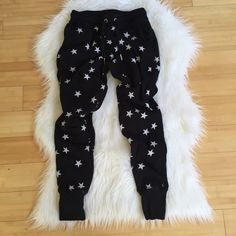 Zoe Karassen Star Joggers Love love love um. Worn once I don't really have the time to rotate this into my wardrobe. This is EXTREMELY RARE. A celebrity favorite.       NO TRADES YES OFFERS Pick a price you feel comfortable with  & we can negotiate from there Zoe Karassen Pants Track Pants & Joggers