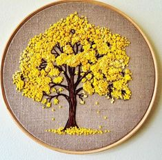 crewel embroidery kits for beginners Hand Embroidery Flowers, Crewel Embroidery Kits, Hand Embroidery Patterns, Ribbon Embroidery, Cross Stitch Embroidery, Funny Embroidery, Cactus Embroidery, Embroidery Hoops, Embroidery Supplies