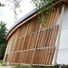 Brise-soleil en bois / de façade / vertical LIGNITI™ AIRSUN