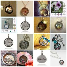 Origami Owl Lockets #Jewelry To order: http://jenshort.origamiowl.com To view more pics: https://www.facebook.com/jenshortorigamiowl