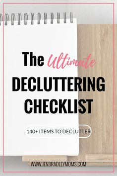 Download the ultimate Decluttering Checklist and read about 140+ items you can declutter from your house ASAP! #declutteringchecklist #declutteringchecklistprintables #declutteringideas #declutteringlist #declutteringtips Declutter Your Home, Organizing Your Home, Decluttering Ideas, Christian Families, Home Organization Hacks, Happy Mom, Mom Advice, Christian Living, Simple Living
