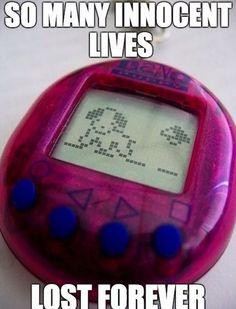 I had Nano Puppy, Nano Baby, Nano Kitty (?), Tomagotchi; I had several of these.