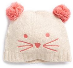 ac276b3d055 Tucker + Tate Kitten Knit Hat (Toddler Girls)
