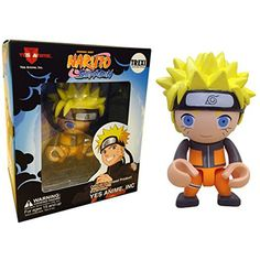 This is a Naruto Anime Trexi Vinyl Figure that is produced by Play Imaginative. Naruto looks fantastic in Trexi-style form. He's about 3 inches tall and has several points of articulation. Super cool!