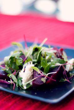 Crush 37 - Balsamic Roasted Beetroot & Mozzarella Salad