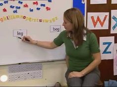 "Video about segmenting and blending. I like her idea of ""ringing the doorbell for each letter."" And moving the sounds closer together as you read them. Teaching Letters, Teaching Phonics, Phonics Activities, Preschool Phonics, Phonics Reading, Teaching Kindergarten, Teaching Reading, Learning, Phonics Lessons"