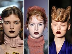 The Seven Biggest Beauty Trends From Fashion Week - The New York Times