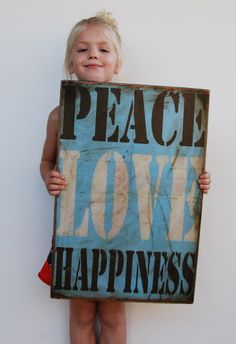 peace love happiness by emilyrooneydesigns on Etsy, $78.00