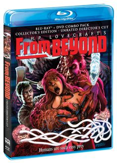 From Beyond (Collector's Edition) [BluRay/DVD Combo] [Blu-ray]: Jeffrey Combs, Barbara Crampton, Ted Sorel, Stuart Gordon: Movies & TV Jeffrey Combs, Re Animator, From Beyond, Tales Of Suspense, Cult Movies, Films, Dvd Blu Ray