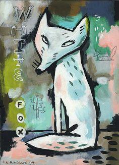 One white fox | Stephanie Birdsong