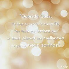 #Fe #Deus #oracao