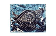 Betty the Hen Original Lino cut print £27.00
