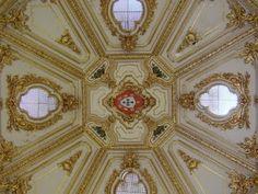Cúpula palacete Sintra en Sevilla. Espacio para organización de eventos en Sevilla.