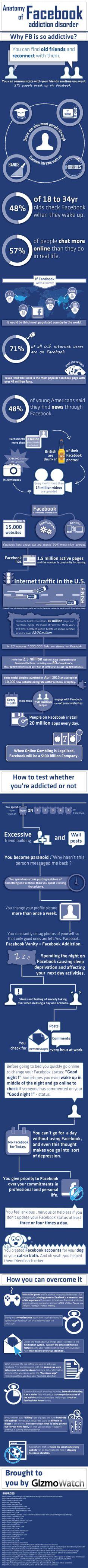 Anatomía de la adicción a FaceBook