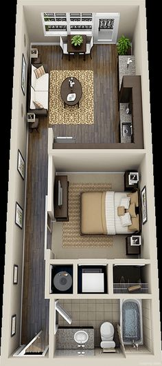 55 Trendy Ideas For House Design Ideas Floor Plans Studio Apartments