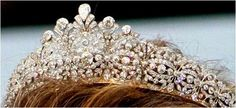Princess Alexia's Diamond Tiara (Greek/Danish) A gift to Alexia from her parents King Constantine ll and Queen Anne Marie