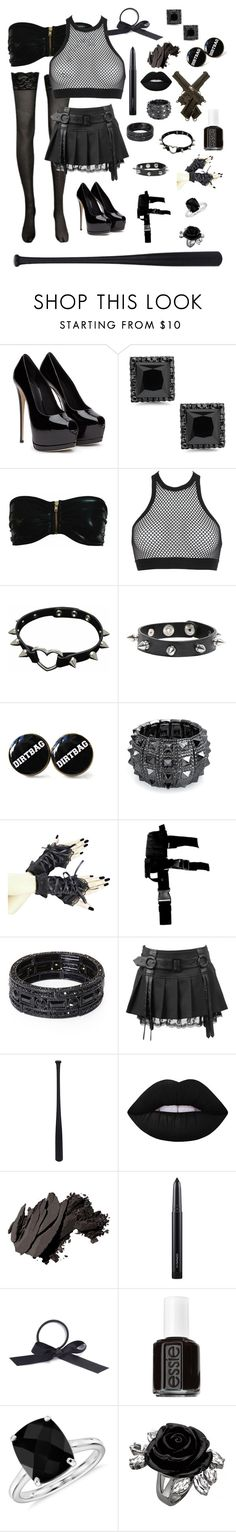 """""""Supernatural OC #1"""" by whenfandomsconsumeall ❤ liked on Polyvore featuring Dsquared2, Bling Jewelry, Elisabeth Weinstock, Lime Crime, Bobbi Brown Cosmetics, MAC Cosmetics, L. Erickson, Essie and Blue Nile"""