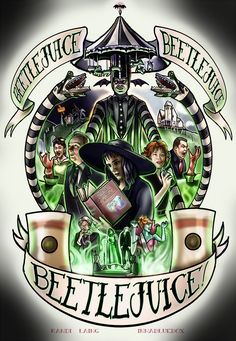 Beetlejuice by rnlaing.deviantart.com on @DeviantArt