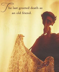 the last greeted death like an old friend...