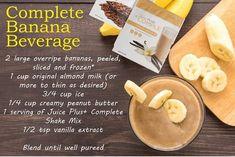 Juice Plus Complete Banana Beverage ~ www.GottaGetHealthy.com