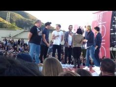 One Direction Fans Play Game With One Direction on Ellen 11/9/12 Part 2