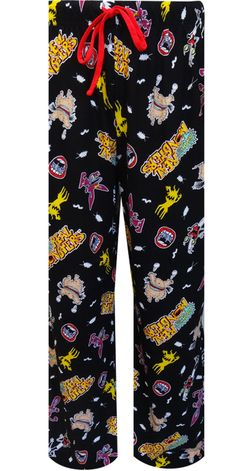 Nickelodeon Rewind Real Monsters Lounge Pants What a blast from the past! These hysterical Real Monsters unisex lounge pants wi...