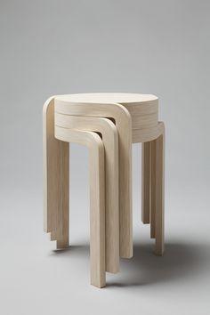 """Karusell"" stool by Swedish Staffan Holm"