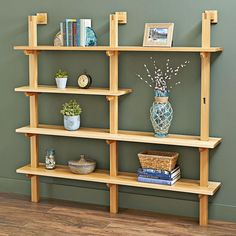 Built-to-fit Stand-up Shelving