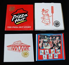 Colorful Pizza Hut boxes Big Pizza, Pizza Hut, Old School Pizza, Classic Restaurant, Kickin It Old School, Pizza Boxes, Great Place To Work, Fast Food Chains, World Best Photos