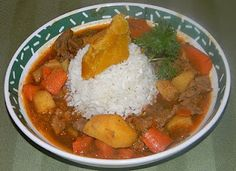 Recipe contributed to Hispanic Kitchen by Tammy Cuevas Ingredients: 1½lbs stew meat 10 olives, chopped 3-5 potatoes 2 bay leaves 1 tsp salt 1 tsp olive oil 3 Tbsprecaito 1 carrot 8-oz tomato sauce 1 stalk of celery 2 cups beef stock  Directions: Place meat and saltin pan with enough water to cover.Cook at... View Article