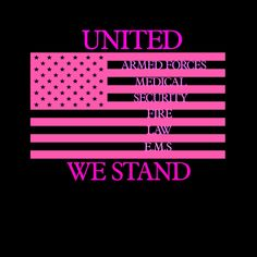 United we stand emergency responders awareness decal. Emergency Response Team, No Response, Firefighter Decals, Boss Up Quotes, Emergency Responder, Trump Cartoons, United We Stand, Support Our Troops, Firefighting