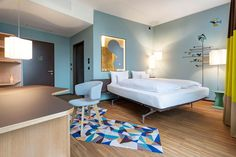 25hours Hotel by Alfredo Häberli Design Development, Zurich West   Switzerland hotel hotels and restaurants