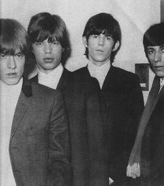 Brian Jones, Mick Jagger, Keith Richards, and Bill Wyman - 1965