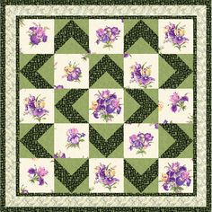 Highlight Your Favorite Large Print Walk About Quilt By