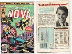 NOVA 4 Marvel Comic Book Bronze Age 1977