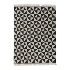 I like it---black and white rug from Ikea