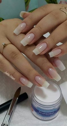 44 Stylish Manicure Ideas for 2019 Manicure: How to Do It Yourself at Home! Part manicure ideas; manicure ideas for short nails; manicure ideas gel nail 44 Stylish Manicure Ideas for 2019 Manicure: How to Do It Yourself at Home! Part 23 Natural Nail Art, Natural Acrylic Nails, Cute Acrylic Nails, Cute Nails, Pretty Nails, My Nails, Natural Color Nails, Natural Looking Nails, Long Natural Nails