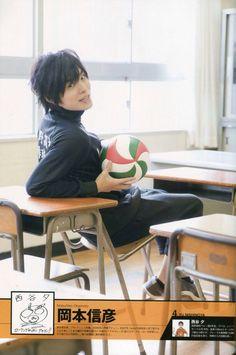 Okamoto Nobuhiko : 岡本 信彦 #seiyuu #voiceactor (as Nishinoya Yuu   Haikyuu!!)