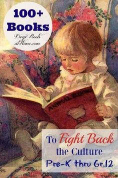 Books To Fight Back the Culture. Reading list from preschool - Gr. via Books To Fight Back the Culture. Reading list from preschool - Gr. via 💥Self-sealing design, leak-proof😎 ✔Effective protection of food👏👏 🎁Ea. Homeschool Books, Homeschooling, Montessori Books, Red Books, Girl Reading, Children Reading, Read Aloud, Reading Lists, Book Lists