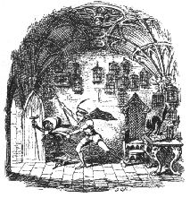 Jorinda & Joringel from 19th century edition of Kinder-und Hausmarchen (Household Tales)