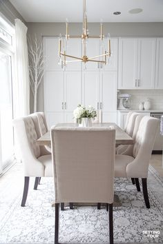 79 Best Fabric - Dining room chairs images | Fabric dining ...