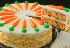 Worteltjestaart Carrotcake