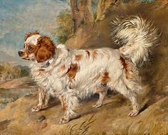 A dog of the Marlborough breed -- by Sir Edwin Henry Landseer (British, 1802–1873)