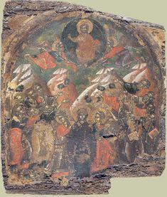 Byzantine Icons, Orthodox Icons, Christian Art, Illuminated Manuscript, Painting, Beautiful, Fresco, Catholic Art, Painting Art