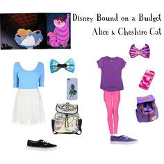 by DisneyBoundOnABudget http://www.polyvore.com/disney_bound_on_budget-alice_cheshire/set?id=118417859