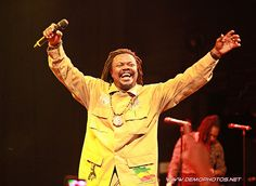 Reggae star Luciano at The Howard Theatre