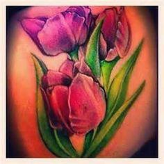 Tulip Tattoo  7 INK TATTOOS